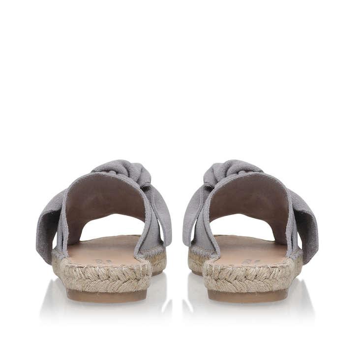 Grey 'Kurry' flat sandals good selling sale online xaWuPI