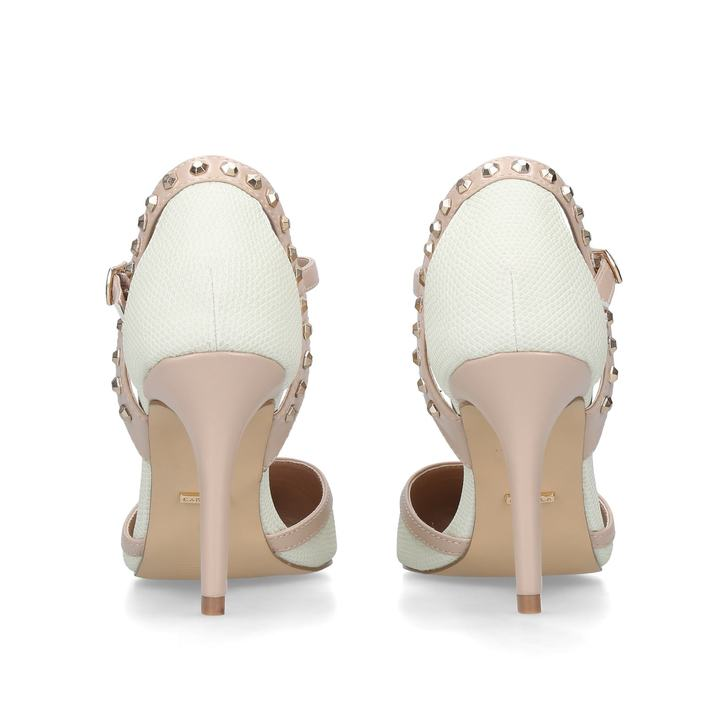 2361ffff127 Kankan Cream Mid Heel Court Shoes By Carvela