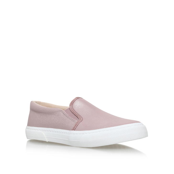Kellie Pink Flat Low Top Trainers By Miss KG IVubNize