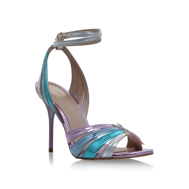 Kurt Geiger KG by Kurt Geiger Jool Metallic Strap Sandals