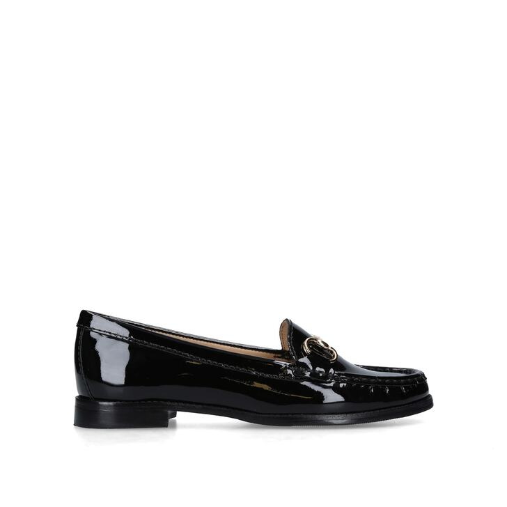CARVELA COMFORT Click 2 patent leather loafers Navy - W6956