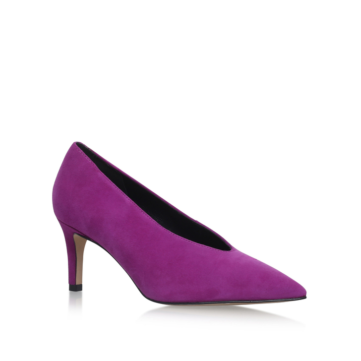 Autobann Pink Mid Heel Court Shoes By Carvela Kurt Geiger | Kurt ...
