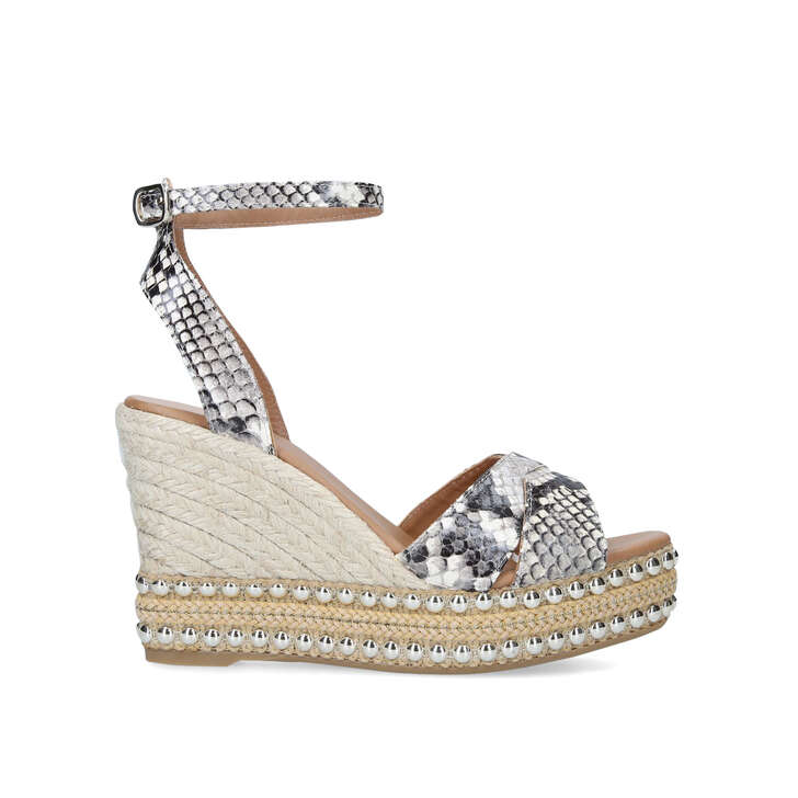 d4aa48c81 Amelia Beige High Heel Wedge Sandals By Kurt Geiger London | Kurt Geiger