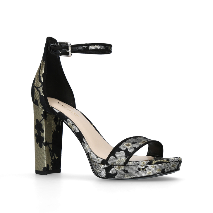 ab0836bc30b4 Dempsey Black High Heel Sandals By Nine West