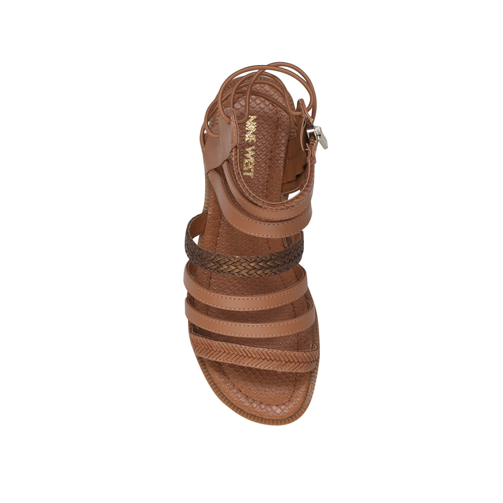 Nine Kurt Xema West By Tan Sandals Flat Geiger nrYXHIxYw