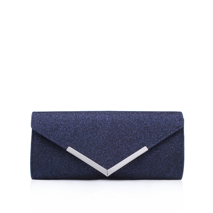 59c1be1382f9 Daphne 2 Navy Clutch Bag By Carvela