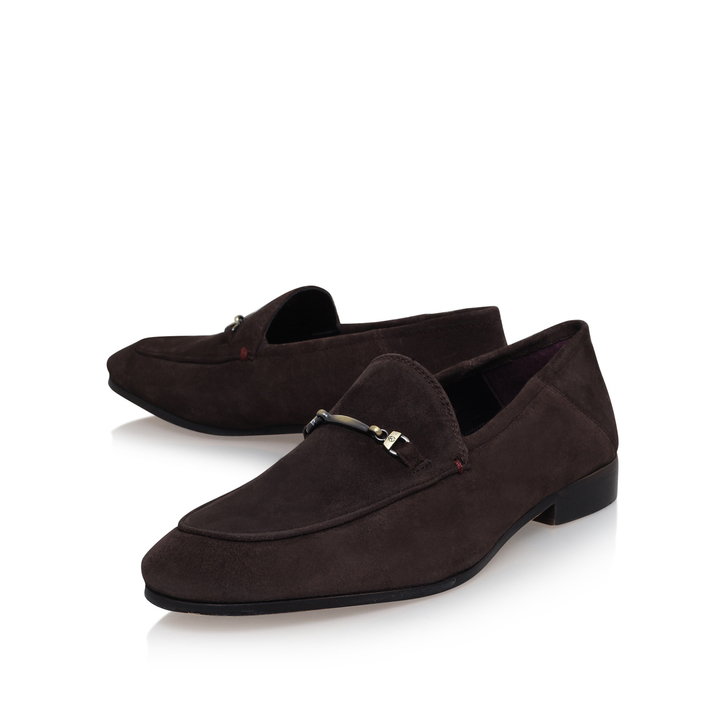 Kurt Geiger KG By Kurt Geiger Buckle Loafers In Suede W6CpqyMLa