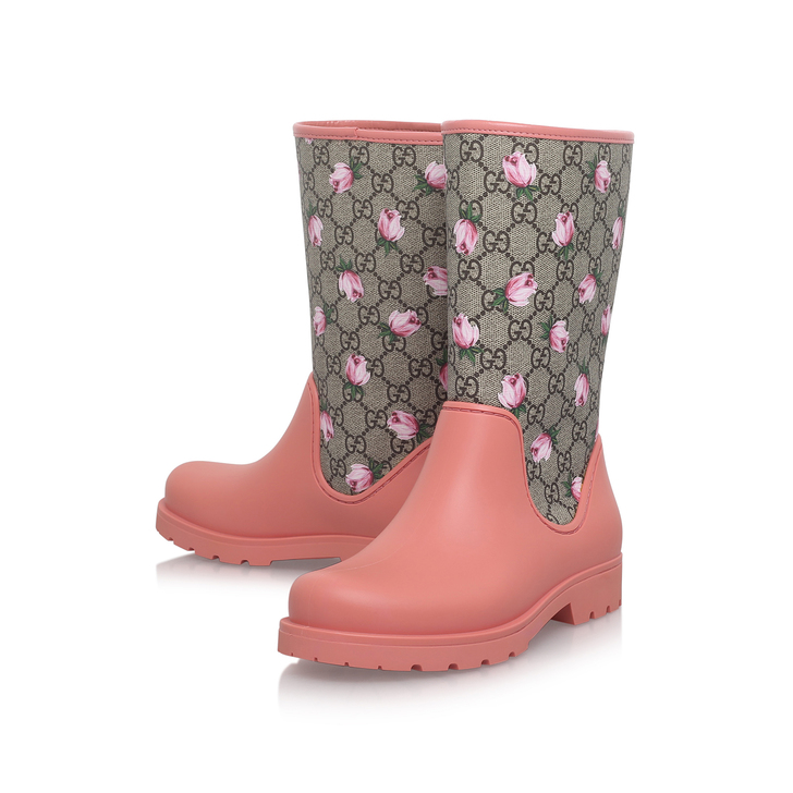 9222570ff928 Rainy Girls Pink Wellington Boots 4 - 9 Years By Gucci