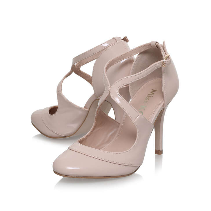 d98f4f522a Natalie Nude High Heel Court Shoes By Miss KG   Kurt Geiger