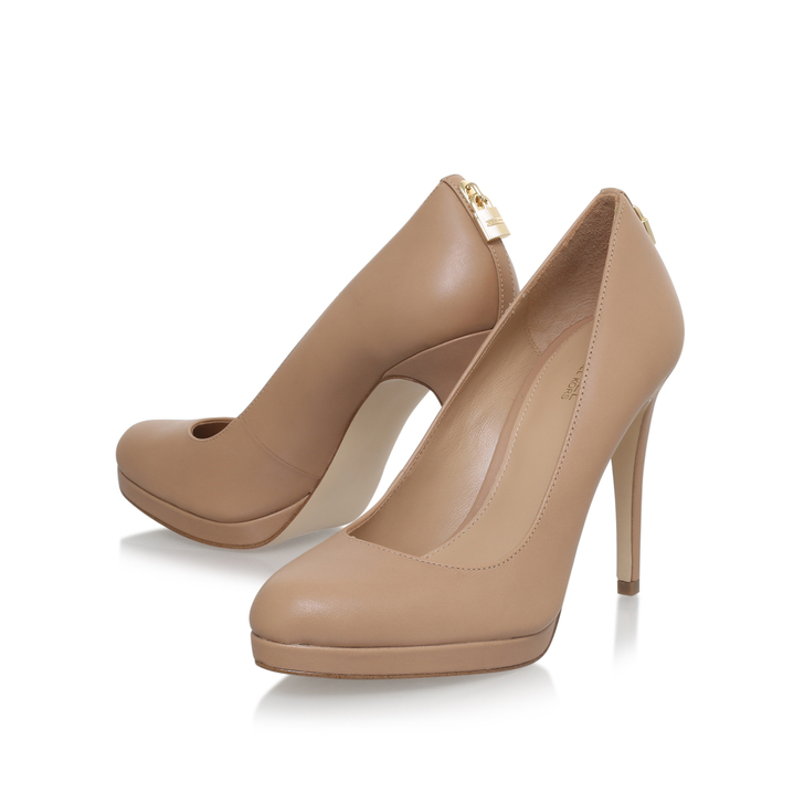 40e4c736e0aa Antoinette Pump Nude High Heel Court Shoes By Michael Michael Kors ...