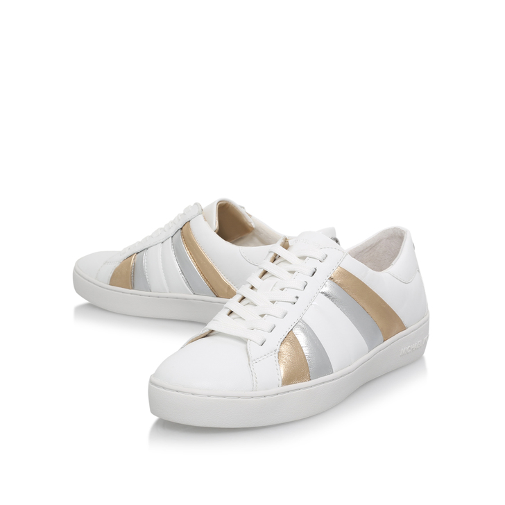 conrad sneaker gold flat low top trainers by michael. Black Bedroom Furniture Sets. Home Design Ideas
