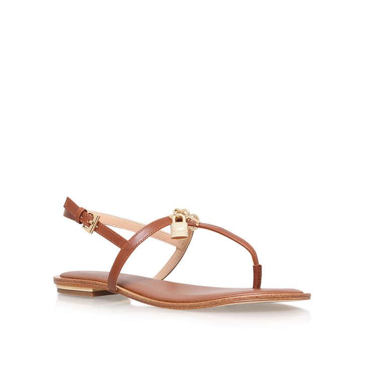 ec335d5bf0fff Suki Thong Tan Flat Sandals By Michael Michael Kors