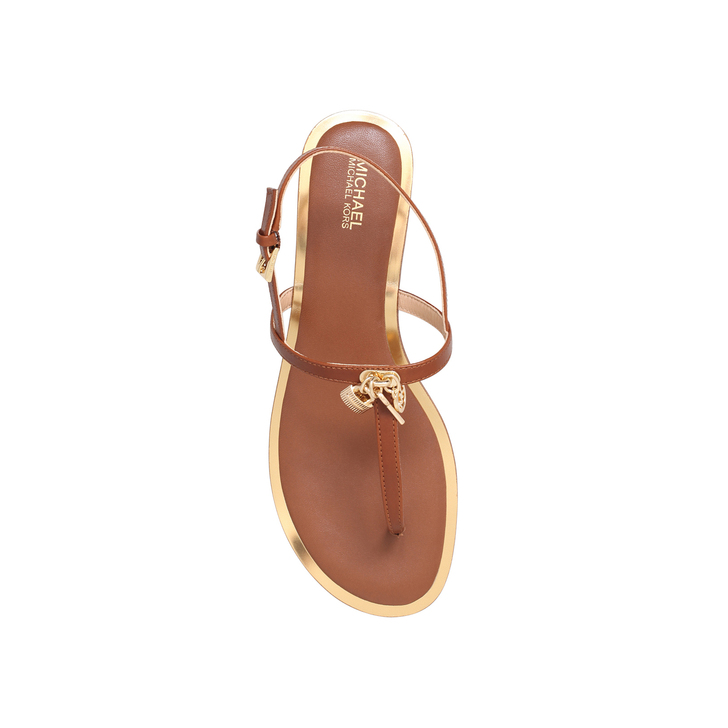 f2ad18235a7c Suki Thong Tan Flat Sandals By Michael Michael Kors