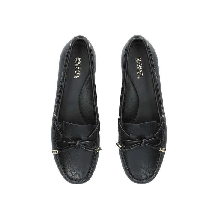 5ee9fa6c4e830f Sutton Moc Black Loafers By Michael Michael Kors | Kurt Geiger