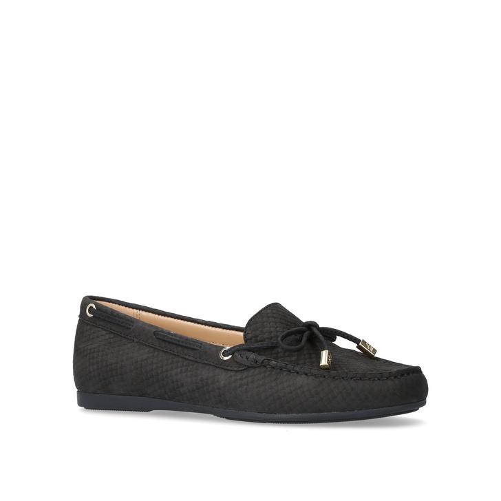 a631179b04ab7d Sutton Moc Black Flat Loafer Shoes By Michael Michael Kors | Kurt Geiger