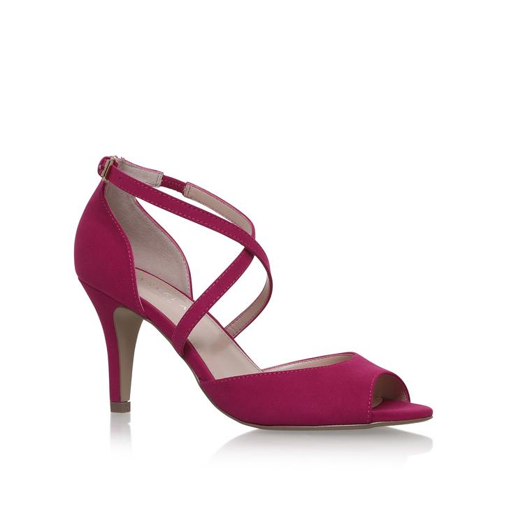 Koko Pink Mid Heel Sandals By Carvela Kurt Geiger | Kurt Geiger