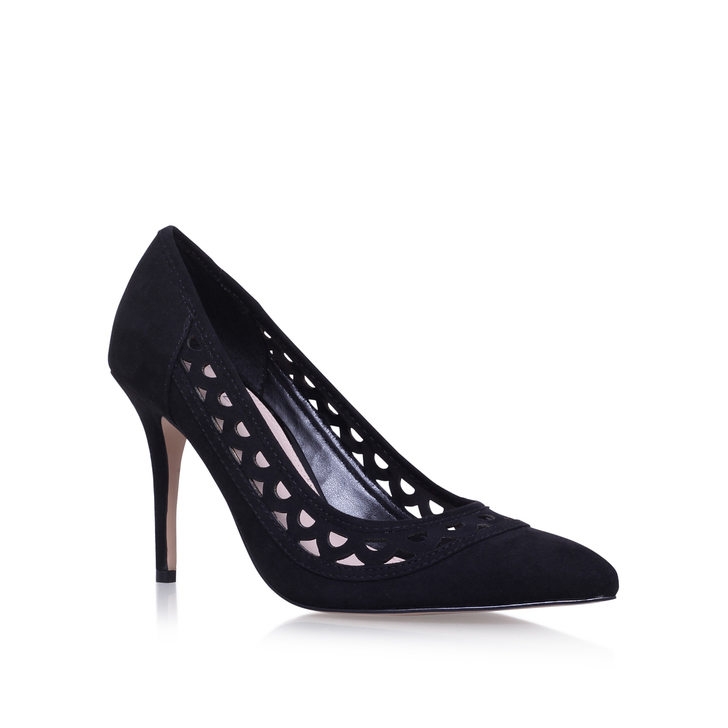 6968b42ccaa Look Black Mid Heel Court Shoes By Carvela