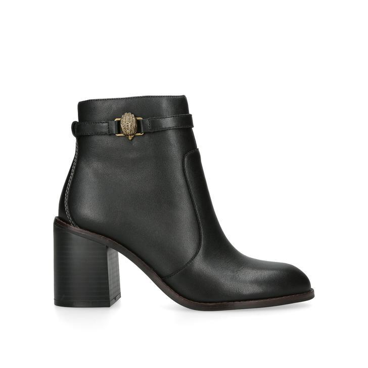63a4614837 Leather Kensington Pouch Black Clutch Bag By Kurt Geiger London ...