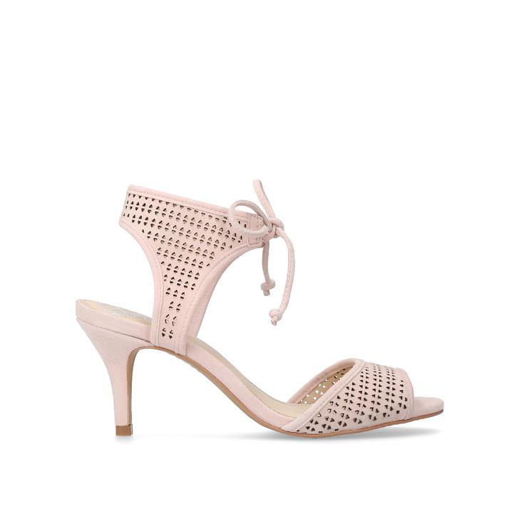 78ffe9da0b45 Kanara Pale Pink Mid Heel Sandals By Vince Camuto
