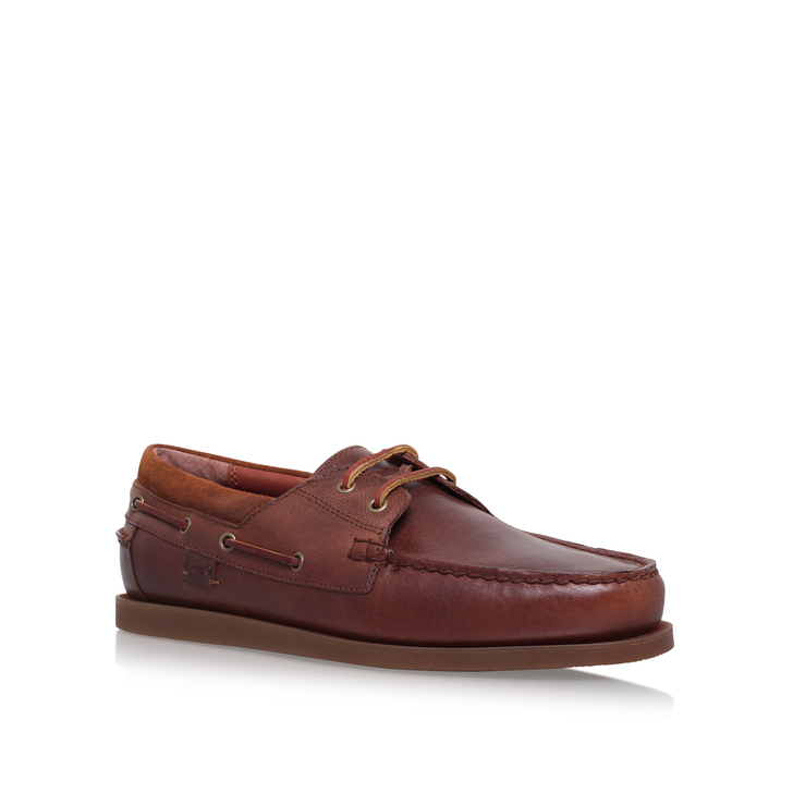 Dayne Leather Boat Shoe