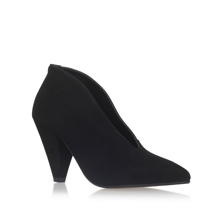 9391ee0c0d382 Andrew Black Mid Heel Ankle Boot By Carvela