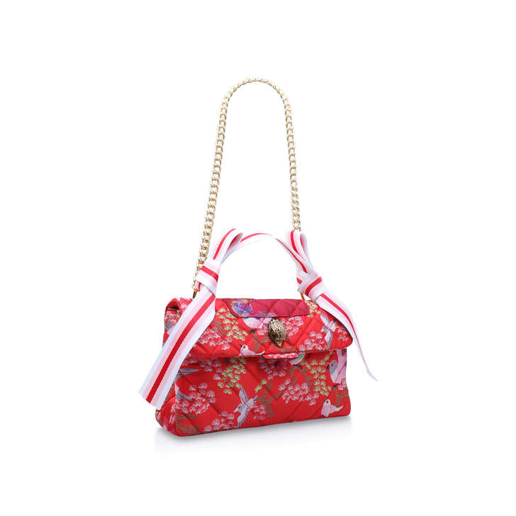 fabric kensington bag multi coloured shoulder bag by kurt