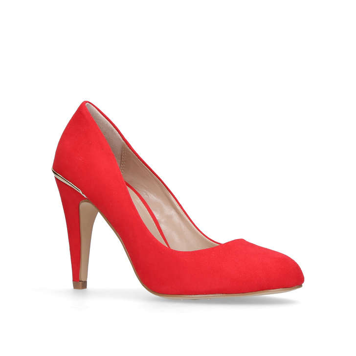 Kendra Red High Heel Court Shoes By Carvela Kurt Geiger | Kurt Geiger