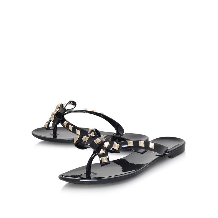 thoughts on fantastic savings low price Stud Black Flip Flop Sandals By Carvela | Kurt Geiger