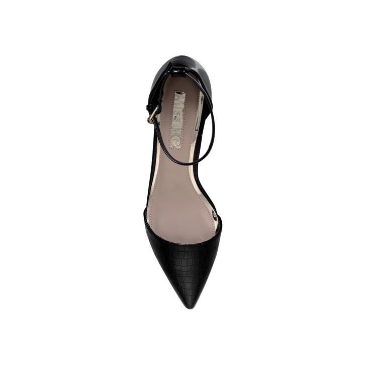d2b3d79a37f Carla Black Mid Heel Court Shoes By Miss KG