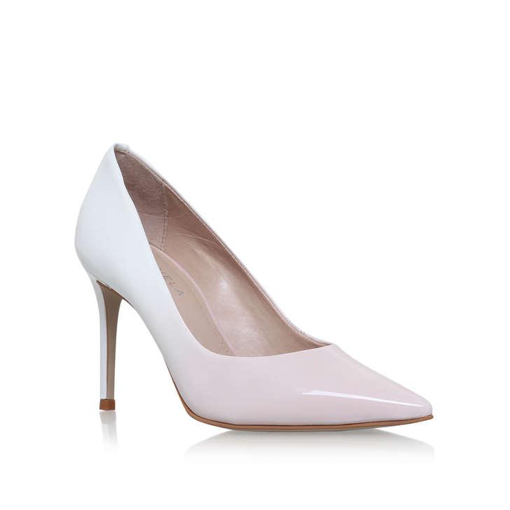 Alison White Mid Heel Court Shoes By Carvela Kurt Geiger | Kurt Geiger