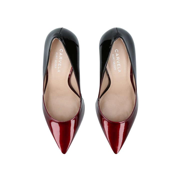 bdfcb6c1cc1 Alison Wine Mid Heel Court Shoes By Carvela | Kurt Geiger