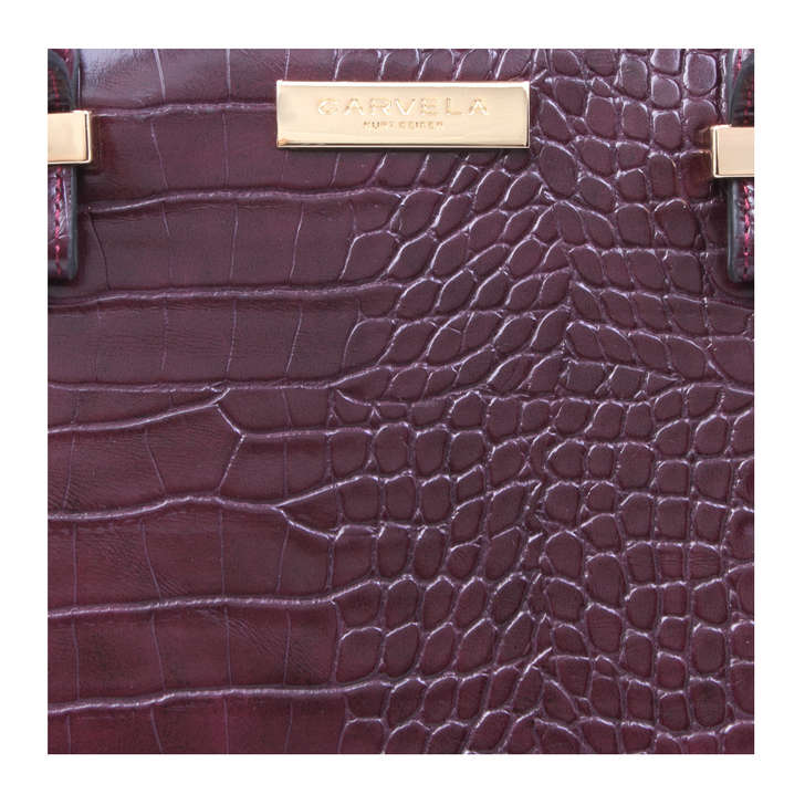 HOLLY CROC ZIP BAG