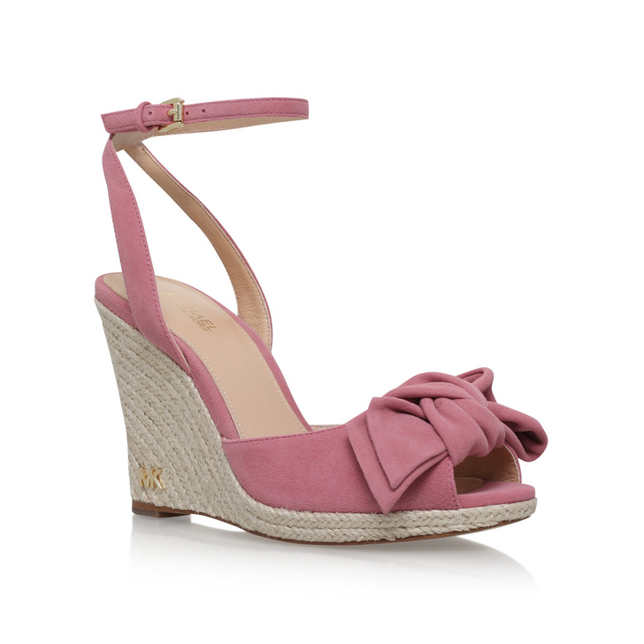 e1f00299690 Willa Wedge Pink Mid Heel Wedges By Michael Michael Kors