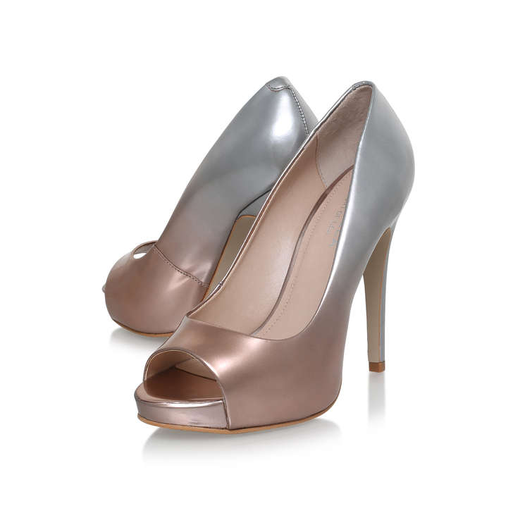 aab176405dae Alberta Metallic High Heel Court Shoes By Carvela