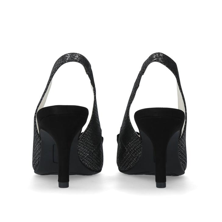 6c25ffd3c26 Yannah Black Mid Heel Court Shoes By Anne Klein