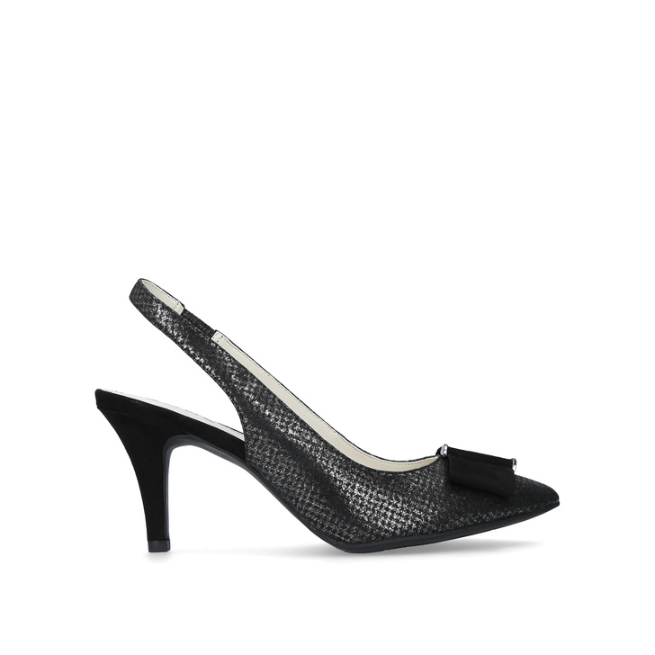 fc64cfc69aa Yannah Black Mid Heel Court Shoes By Anne Klein