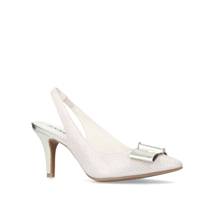 694e48009cf Yannah Pale Pink Mid Heel Court Shoes By Anne Klein