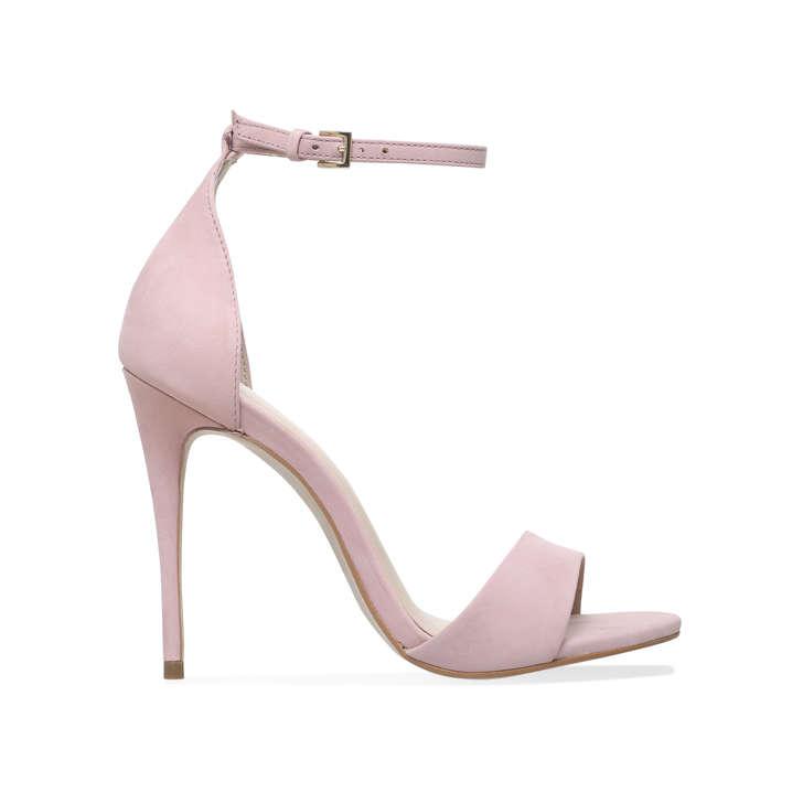 Glimmer. Nude High Heel Sandals