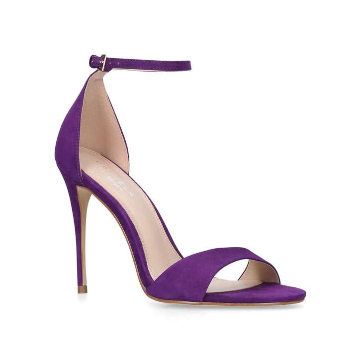 Glimmer. Purple High Heel Sandals
