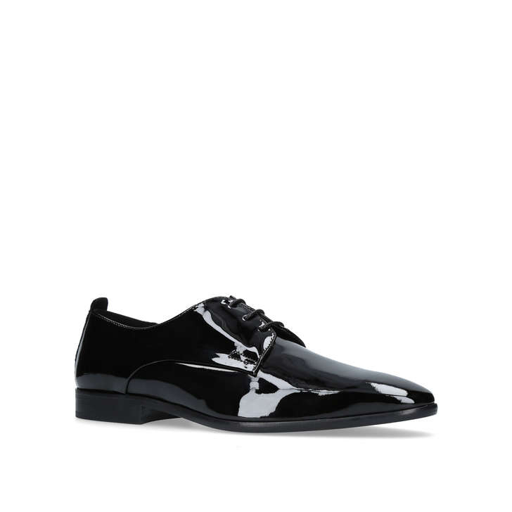 Dermot. Black Lace Up Shoes