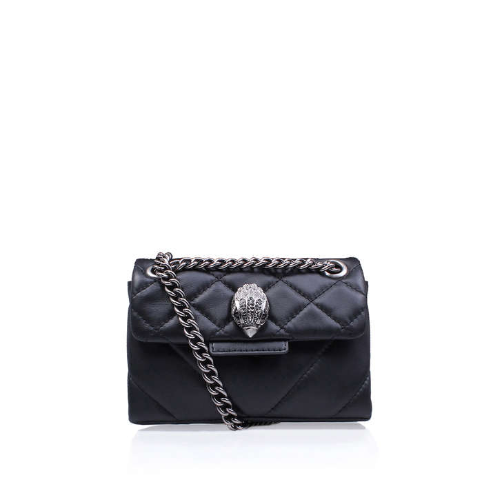 Leather Mini Kensington Black Mini Bag By Kurt Geiger