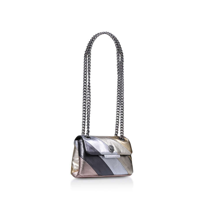 f253768a9315 Leather Mini Kensington Metallic Shoulder Bag By Kurt Geiger London | Kurt  Geiger