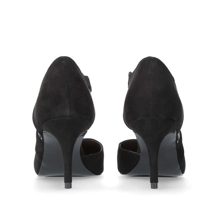 165364592af Kremi Black Mid Heel Court Shoes By Nine West