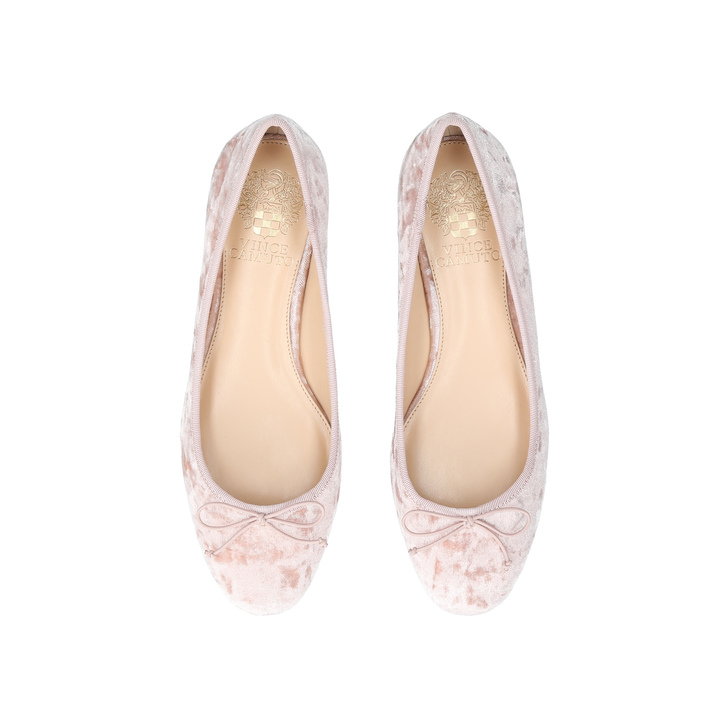d2ea5a32bf8e3 Adema Pale Pink Flat Ballerina Shoes By Vince Camuto