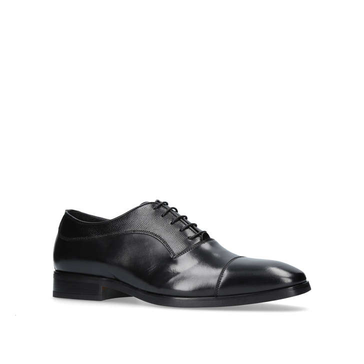 Kurt Geiger London Austin Cuir Chaussures Oxford - Noir pfRPAC