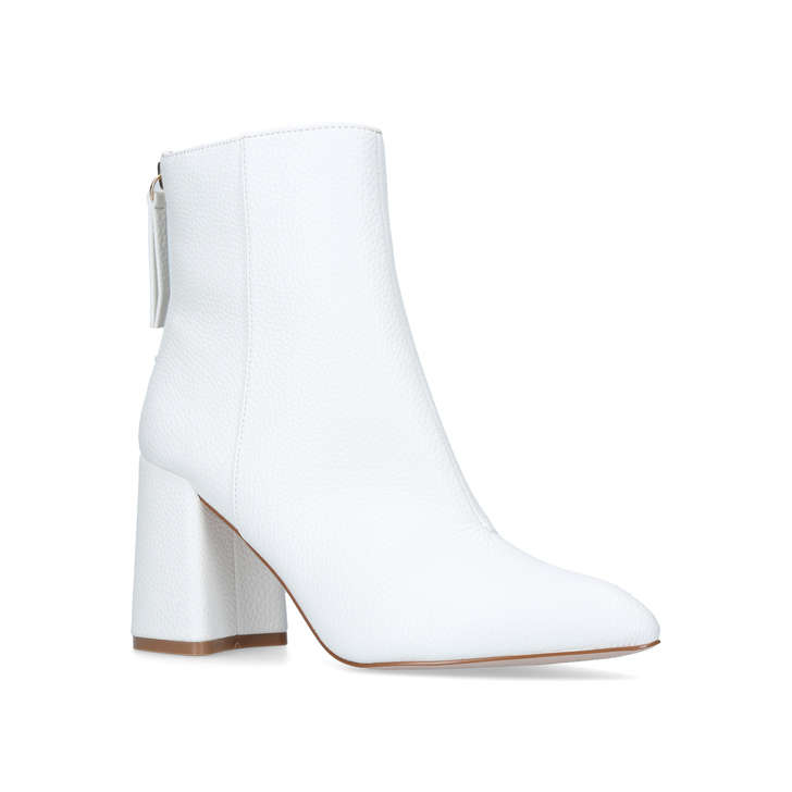 White 'secret' high heel ankle boots clearance sale WAj7qQ5