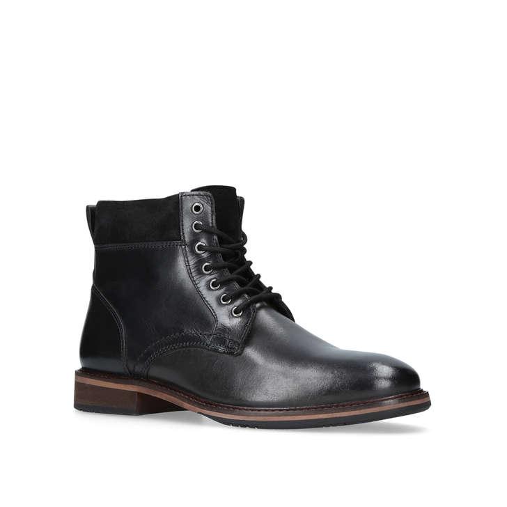 3384c20a0d Hogan Black Lace Up Boots By Kurt Geiger London | Kurt Geiger