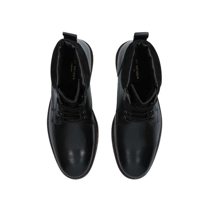 2a099ba613b Hogan Black Lace Up Boots By Kurt Geiger London | Kurt Geiger