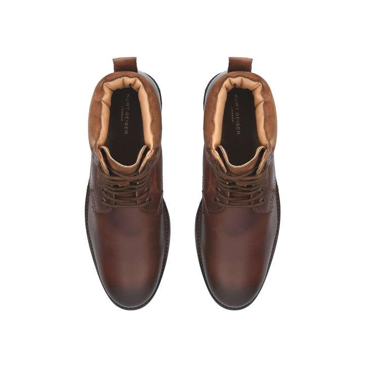 c070ebcca95 Hogan Brown Lace Up Boots By Kurt Geiger London | Kurt Geiger