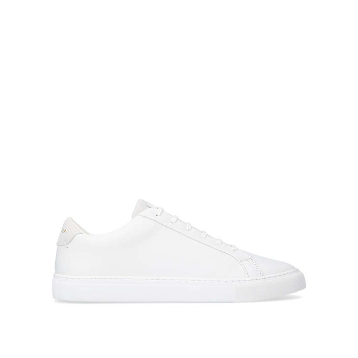 f3922e0024a6 Donnie. White Low Top Trainers